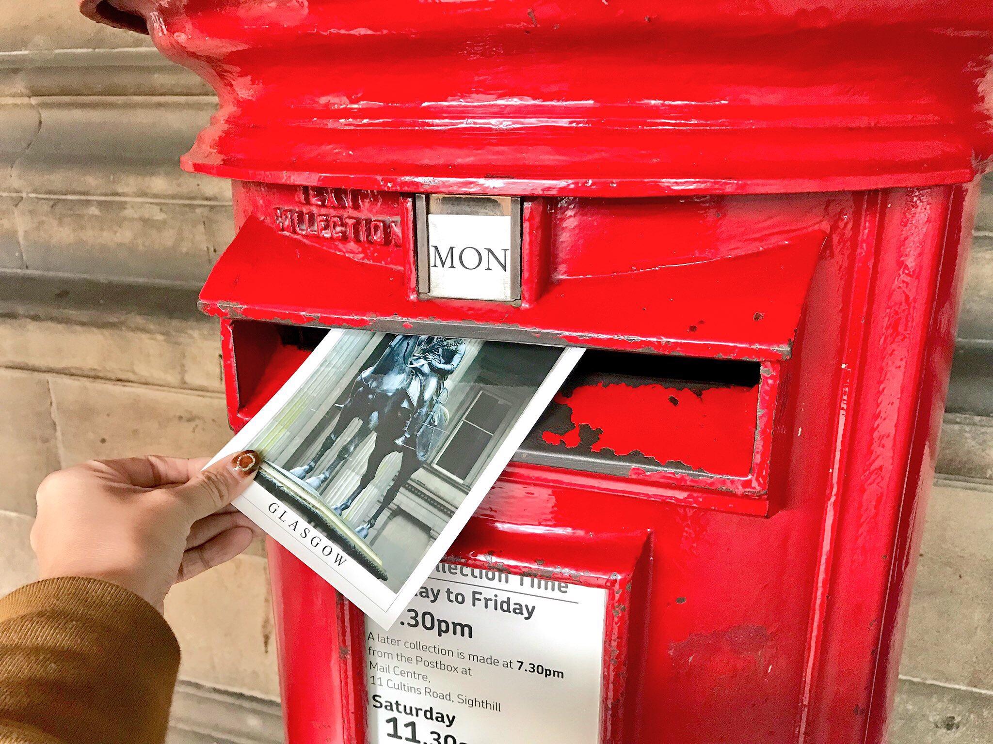 イギリス 国際 郵便